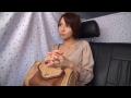 【ナンパ若妻動画】「ゴム付けて下さい…」26歳素人のショートカットが似合う美人妻に無許可中中出し!